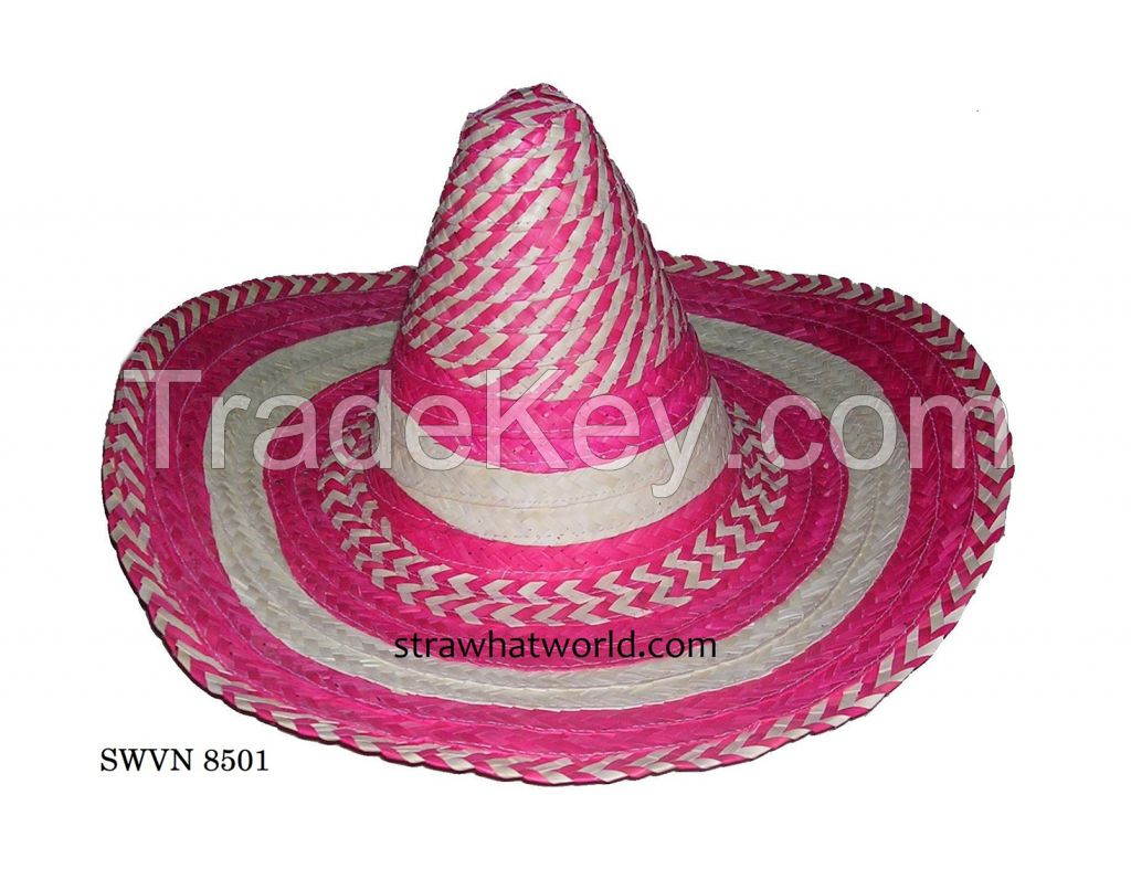 Mexican Sombreros Hat, Mexican Hat Carnival, Mexican Straw Hat