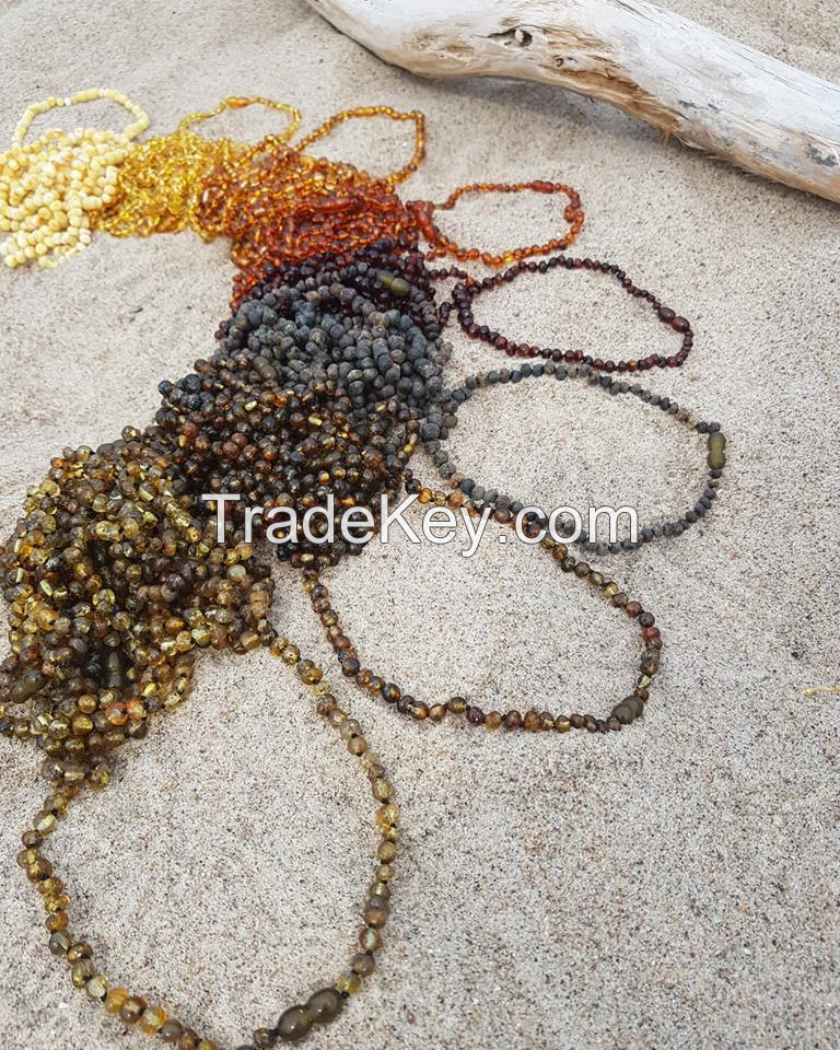 Baltic Amber Baby Necklace Wholesale