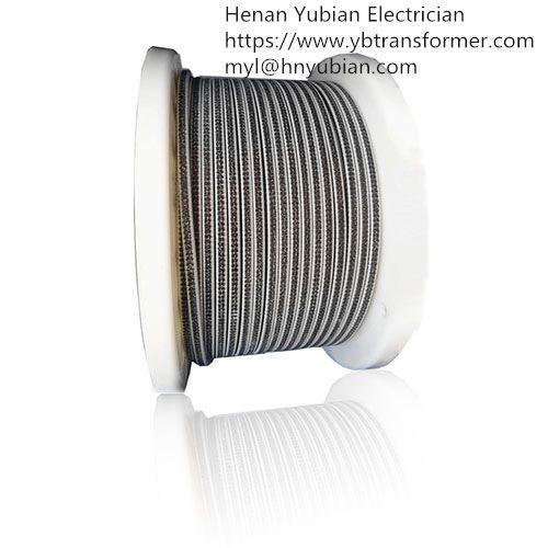 Glass Fiber Covered Enamelled Rectangular Wire