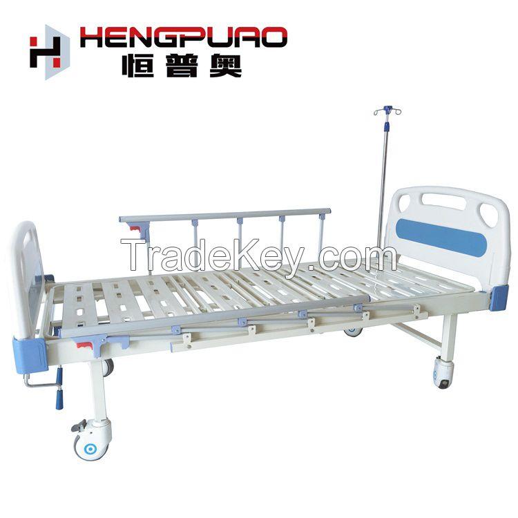 hospital furniture adjustable manual medical bed for patient
