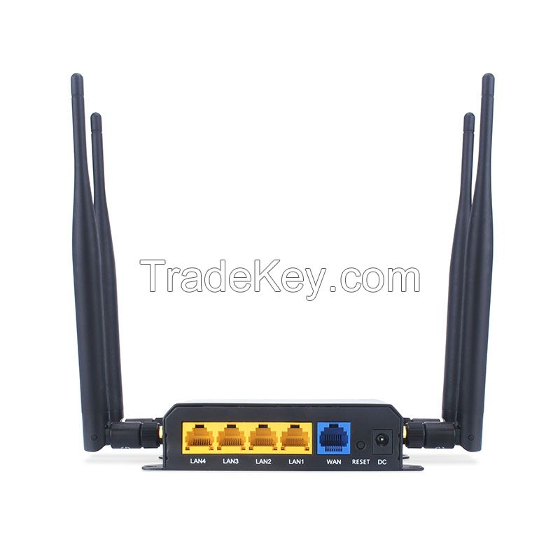 Fastest  4g LTE wireless router with sim card slot support openWRT