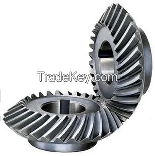 The helical gear of helical gear reducer