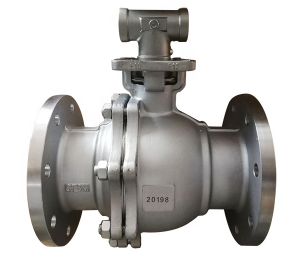 API SS/CF8/CF8M Water Ball Valve With Handle Lever Class 150