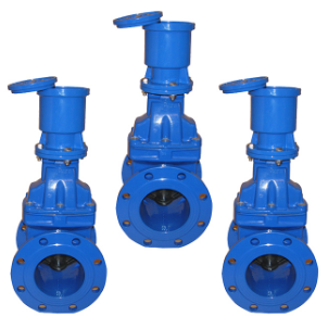 High Efficiency Water Seal Flanged Gate Valve