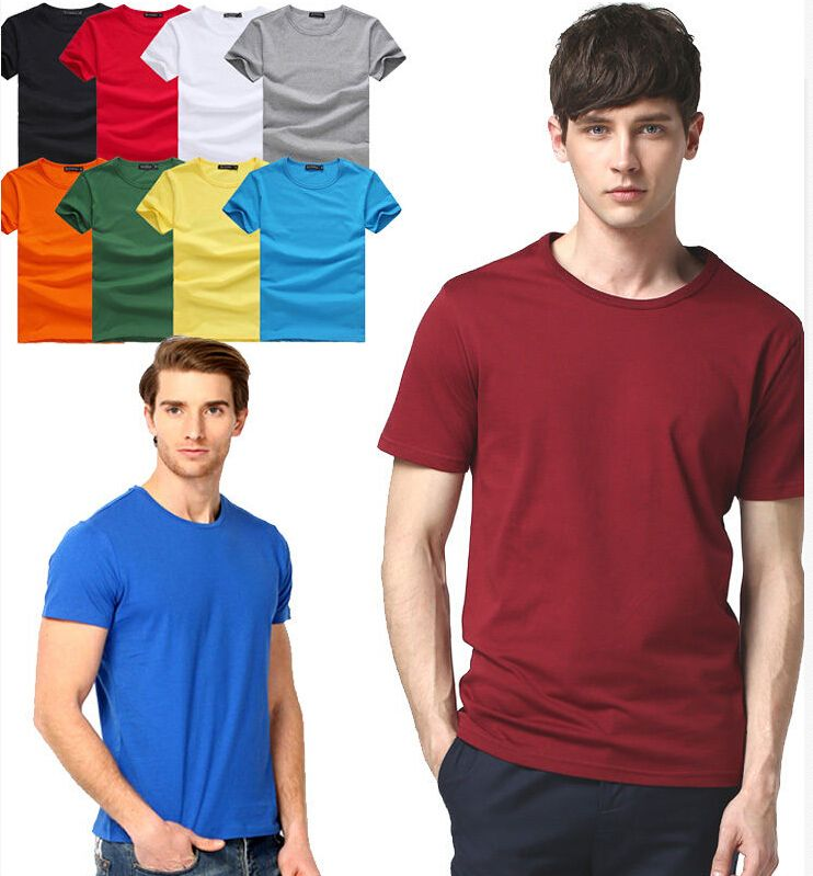 Make your own design logo men's t shirts