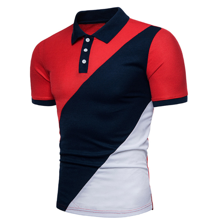 cotton pique men's golf polo t-shirt with OEM service custom embrodiery logo and label