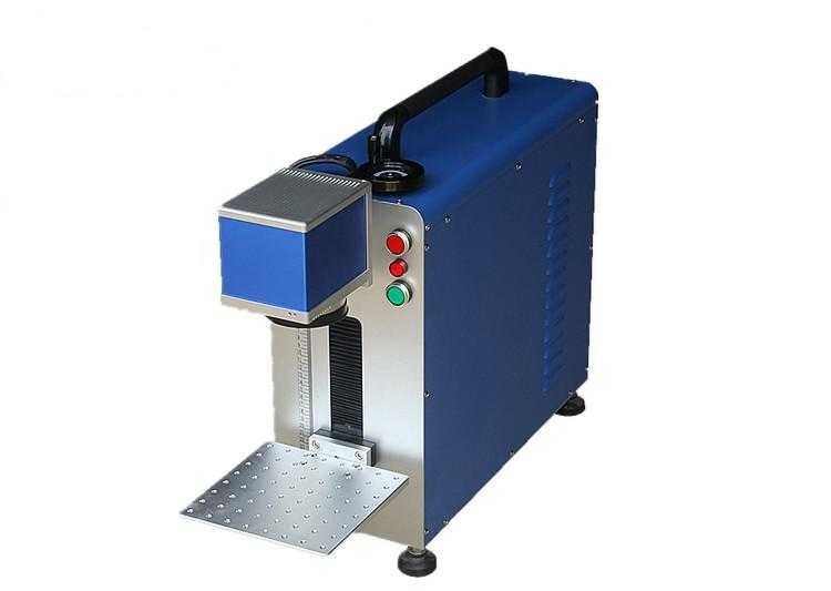 Portable mini laser marker 30W fiber laser marking machine low price