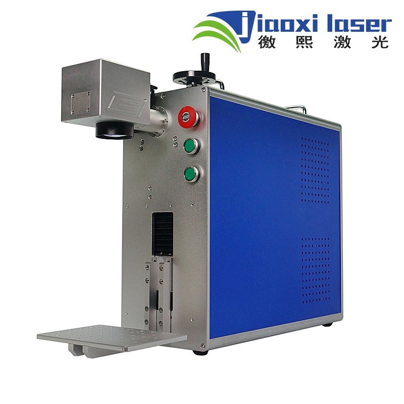 Jiaoxi Portable 30w fiber mini pen laser making machine for PCB, metal, logo marking mini fiber laser