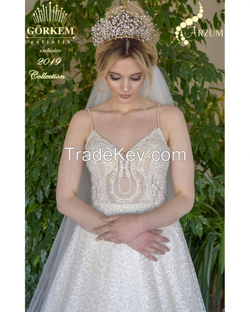 wedding dress Sheath style