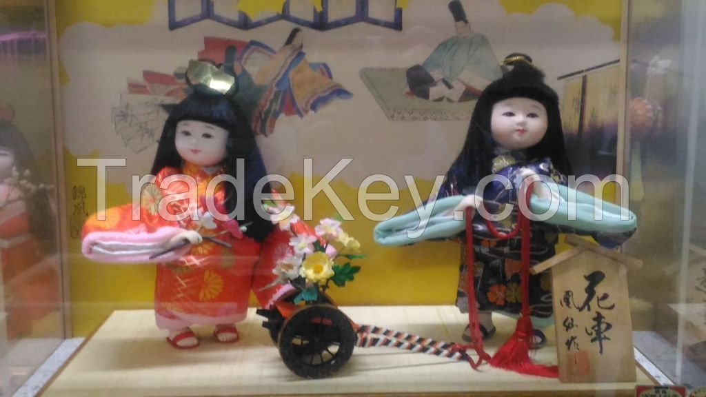 Japanese authentic dolls