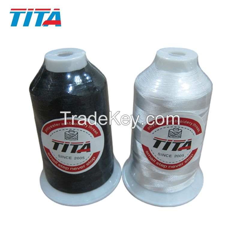 Polyester embroidery thread 120D/2