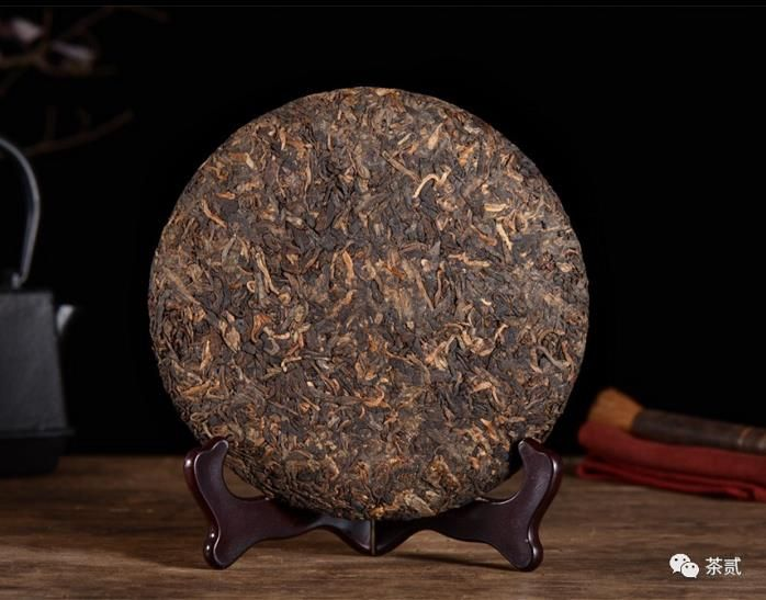 Puer tea Cooked puer tea bread Chinese tea from Menghai ecological base