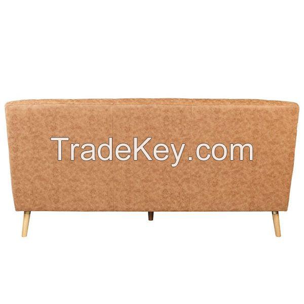 Amber Suede Fabric Sofa