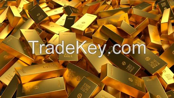 Gold Nuggets / Gold Bars / Au Gold Bars