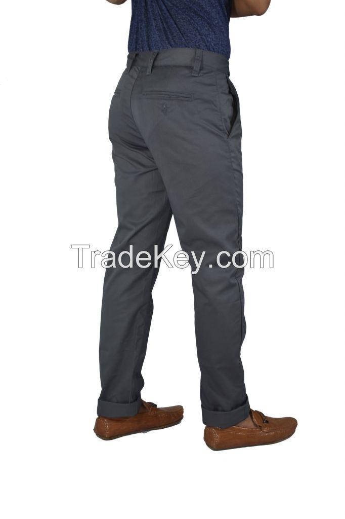 Men Chinos (Grey)