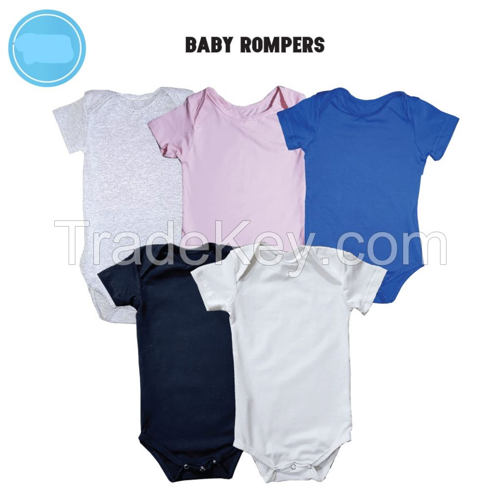 Baby Romper different colors and styles