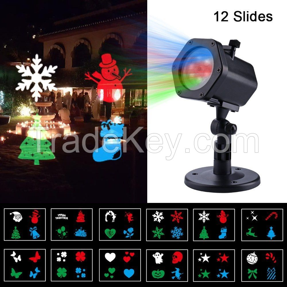 Christmas laser projection lamp
