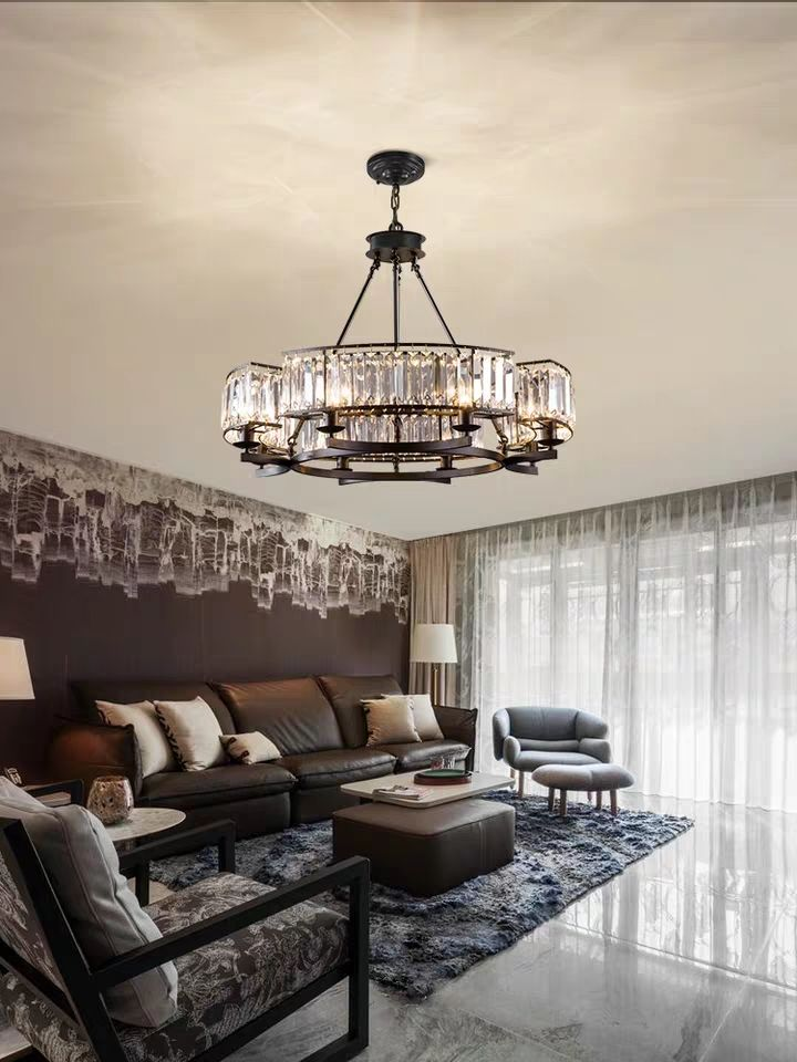 household crystal chandelier