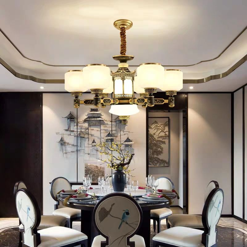 chinese style contracted droplight household expenses