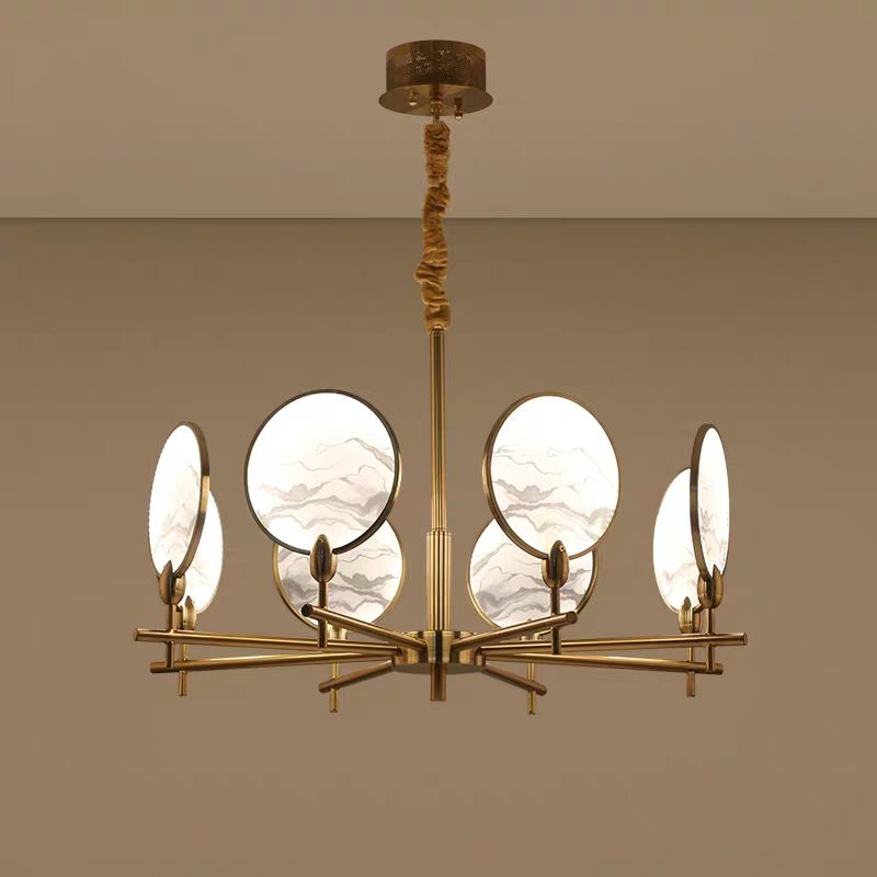 chinese style contemporary and contracted hall pendant lights