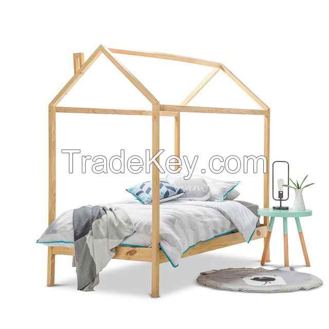 No.1313 Multifunctional Safely Wood Bed