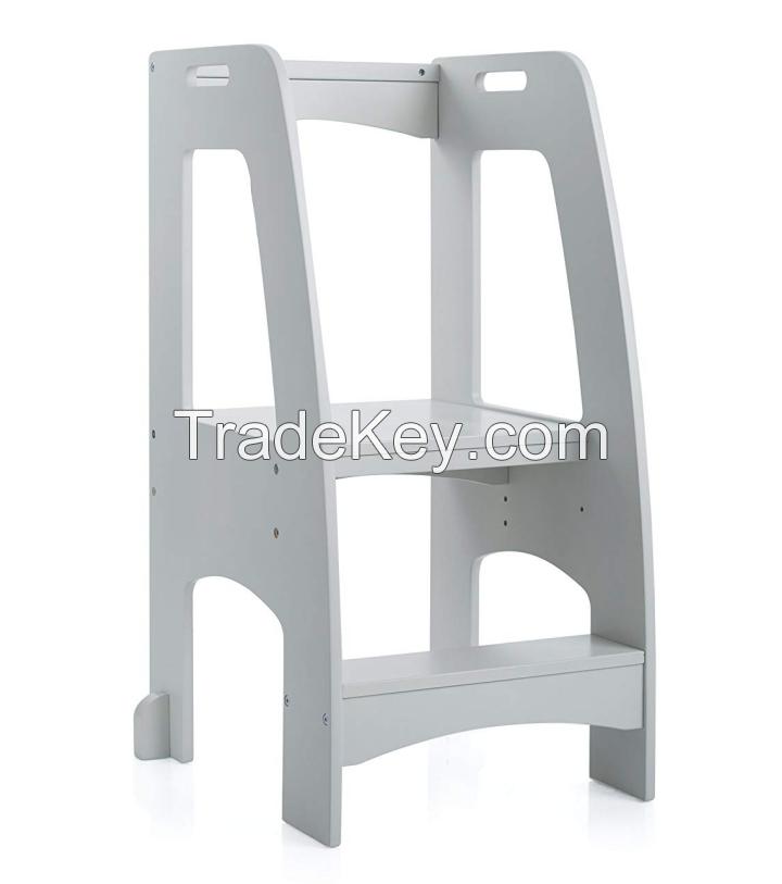 No.2234 Factory Direct Sale kitchen Step Stool Wood Kids' Furniture