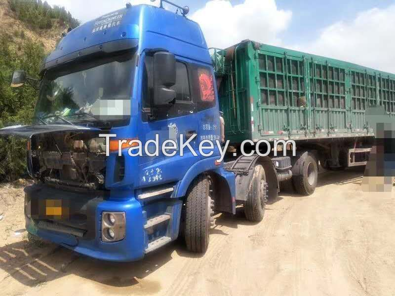 Beiqi foton 380hp 6x2 uesd tractor year 2013 for export