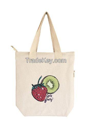 Canvas Shopping Tote Bag
