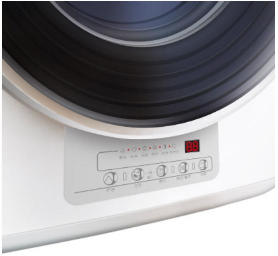 3kg fully automatic Mini wall-mounted baby sterilizing high temperature washing drum washing machine
