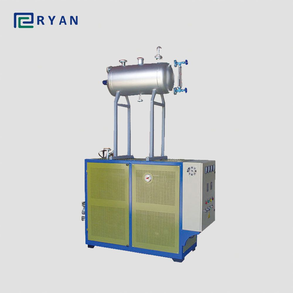 heat conduction oil furnace for heating hot roller in non-woven fabric