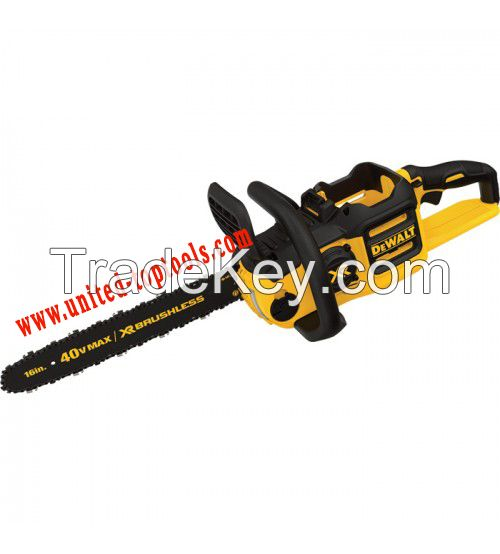 Ion XR Brushless Chainsaw - DeWalt 40V MAX Lithium - 16in. Bar, Tool Only