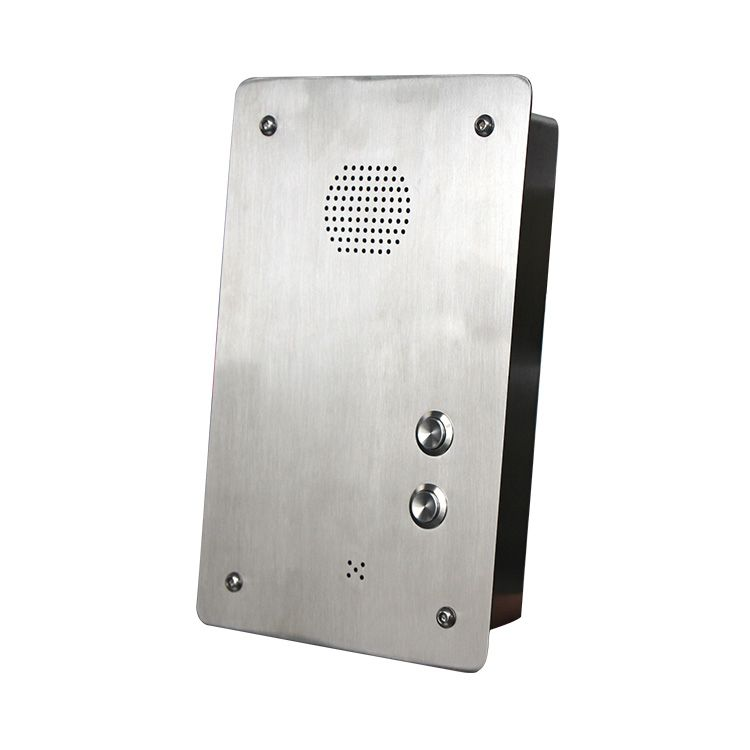 Wall-Mounted Weatherproof Analogue Hands Free One Button Emergency Help Telephone JWAT409