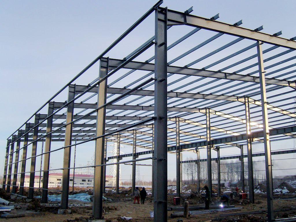 Steel Structure Workshop Prefabricated Steel Metal Warehouse Building