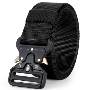 Tactical Heavy Duty Belt With Metal Buckle
