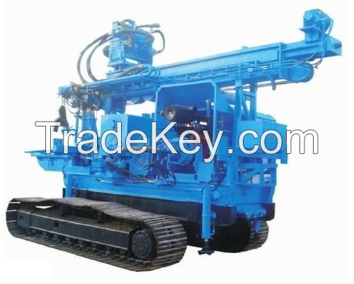 Crawler Mounted Geo Technical Drilling Rig (PCDR-1000)