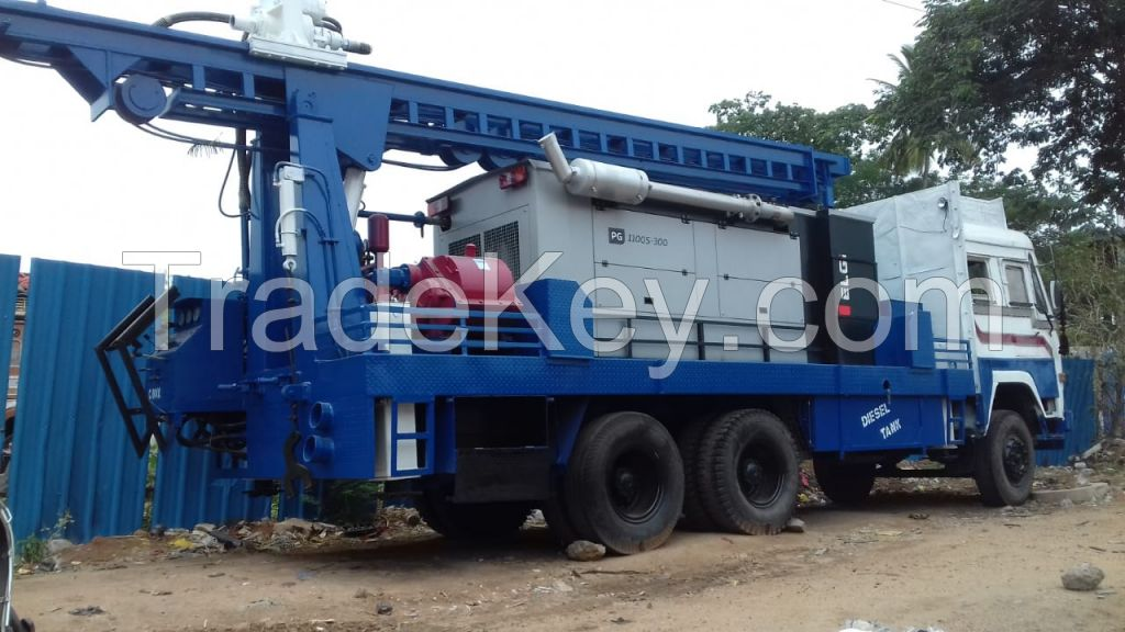 PDHTR-300 Refurbished Ashok Leyland Truck Mounted Drill Rig
