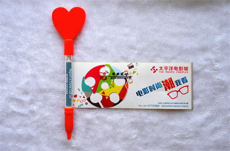 Plastic ballpoint pen banner pen adverting pen promotional pen with custom logo