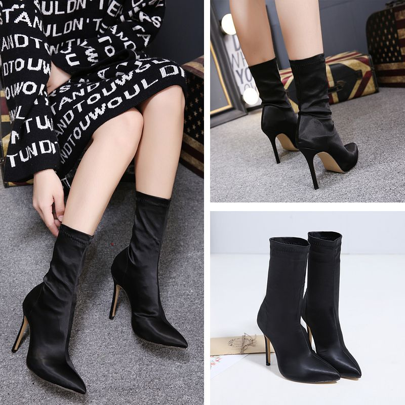 fashion style women shoes new model high heels used shoes boots