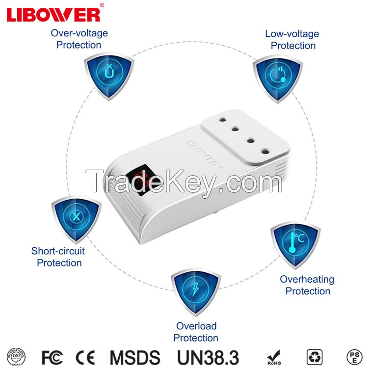 Car power inverter 12V DC to 220V/110v AC converter adapter with cigarette lighter and double USB ports 5V charger