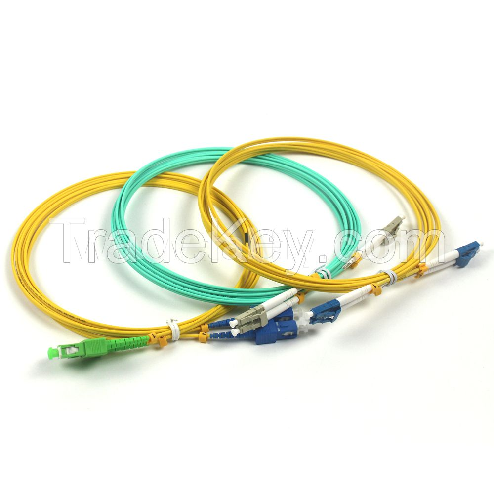 SC to LC/SC Single-mode Simplex Fiber Optic Patch Cord
