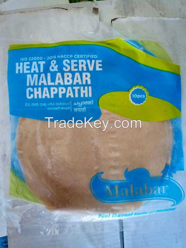 promotion - frozen protta and chapatti