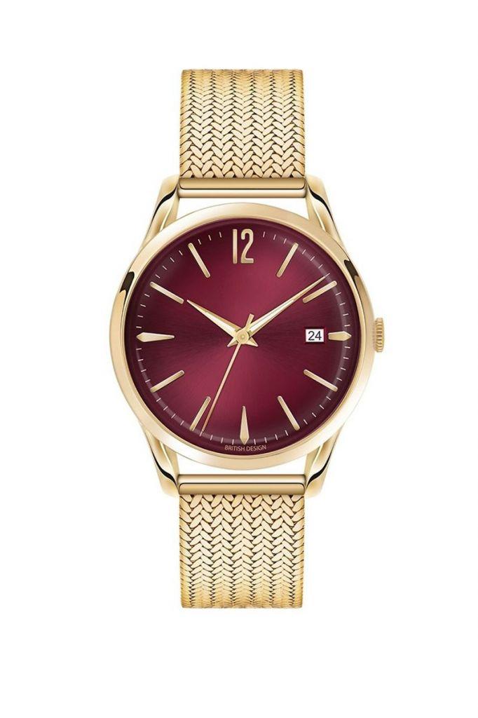 fashion magnet strap bracelet gold women watch