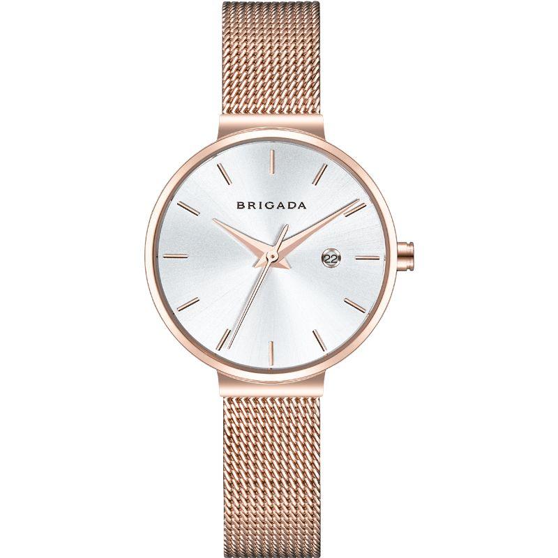 Factory price  women watches ladies steel band wrist quartz watch