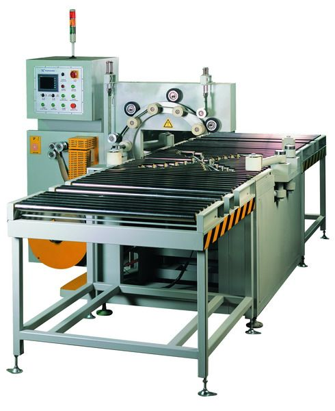 Automatic steel coil packing line
