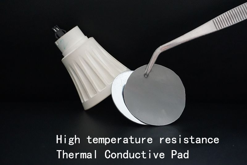 KC-PT series High temperature resistance High mechanical strength High resilience Thermal Conductive Silicone Pad