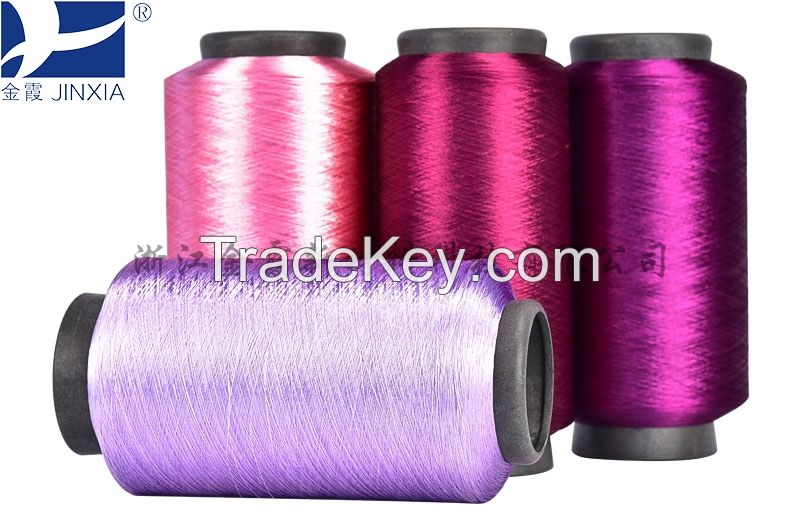 Dope Dyed Polyester Yarn DTY 150d/96f Full Dull