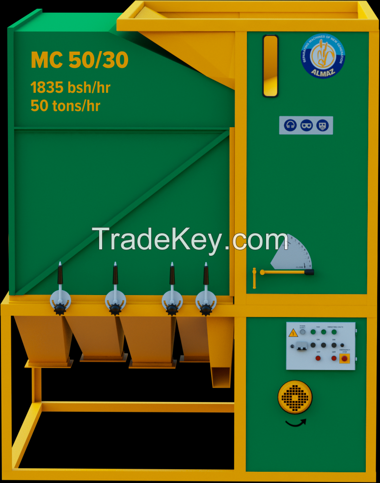 Grain cleaner MC 50/30