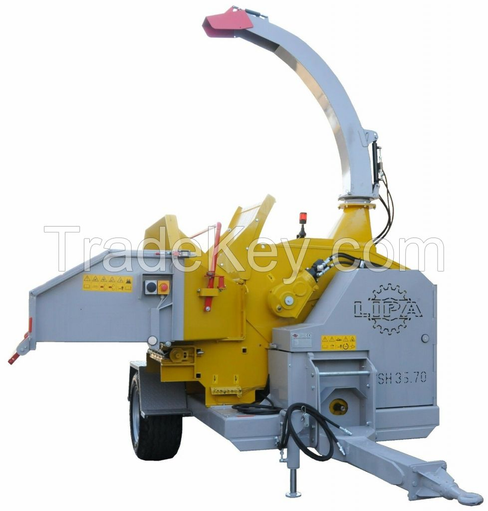LIPA Wood Chipper heavy duty MTL 35.70