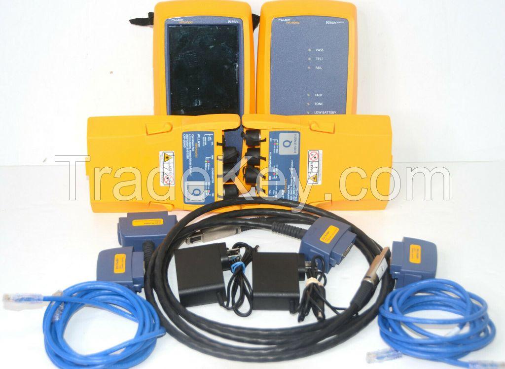 Fluke DSX-8000 CFP-QUAD Certifiber Pro SM MM Fiber Cat8 DSX-8000 DSX QUAD MODULE