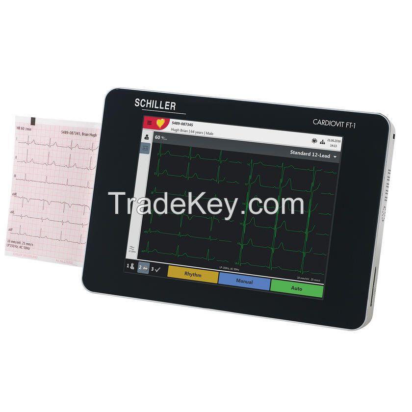 SCHILLER CARDIOVIT FT-1 TABLET ECG MACHINE